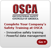Complete Your Companys Safety Training at OSCA